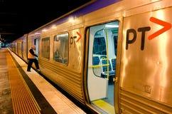 Metro Trains Melbourne Stock Photos