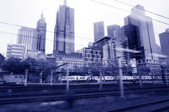 Metro Trains Melbourne Stock Images