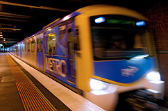 Metro Trains Melbourne Royalty Free Stock Photo