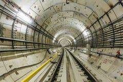 Metro tunel NYC Fotografia Royalty Free