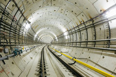 Metro tunel NYC Zdjęcie Stock