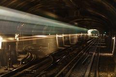 Metro tunnel Royalty Free Stock Image