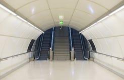 Metro tunnel exit. Stock Image