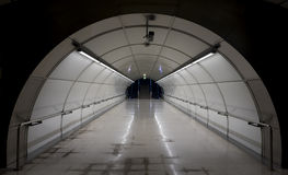 Metro tunnel exit Stock Photography