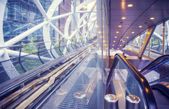 Metro tunnel Royalty Free Stock Images