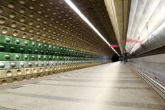 Metro Underground Station, Prague, Czech Republic Royalty Free Stock Image