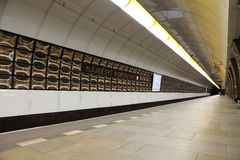 Metro Underground Station, Prague, Czech Republic Stock Photo