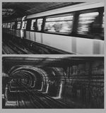 Metro underground Stock Image
