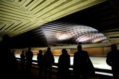 Metro (Underground) in Washington DC. Metrorail or simply Metro in Washington, D.C., USA Royalty Free Stock Photos