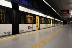 Metro Valencia Stockbilder