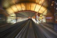 Metro van Doubai stock afbeeldingen