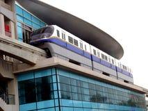 Metro van Doubai Post Stock Fotografie