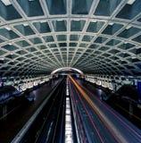 Metro van het Washington DC post Stock Fotografie