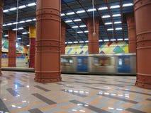 Metro van Lissabon, Portugal Stock Foto's