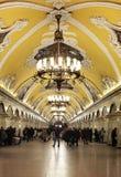 Metro van Moskou Stock Fotografie