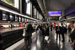 Metro van Parijs Stock Foto's