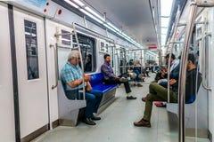 Metro van Teheran Post 02 stock foto