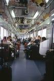 Metro van Tokyo Stock Foto's