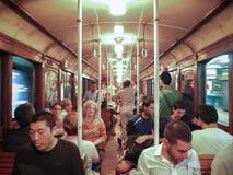 Metro velho de Buenos Aires Fotos de Stock Royalty Free