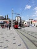 Metro velho de Istambul fotografia de stock