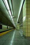metro vert Obrazy Royalty Free