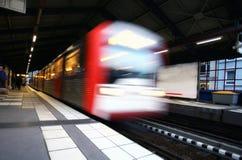 Metro vertrek Royalty-vrije Stock Fotografie