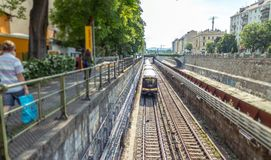 Metro in Vienna Royalty Free Stock Photography