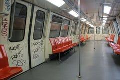 Metro wagen stock fotografie