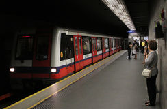 Metro in Warsaw (Poland) Royalty Free Stock Photos