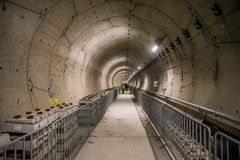 Metro Works On Section Drumul Taberei, Bucharest Stock Photography