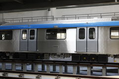 Metrobahnstation Stockbild