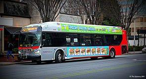 Metrobus Royalty Free Stock Image