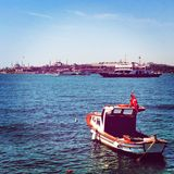 Metrocity di Costantinopoli Fotografia Stock