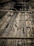 Metroen kommer ut Royaltyfri Foto