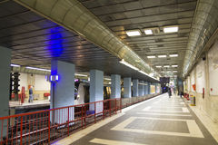 Metroen posterar Royaltyfri Fotografi