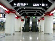 Metrogangaufzug Lizenzfreie Stockbilder