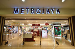 Metrojaya sklep w Kot Kinabalu Zdjęcia Royalty Free