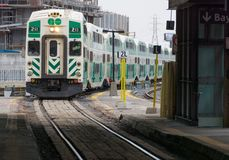 Metrolinx Go Transit in Toronto,Canada Stock Photo