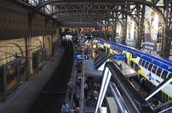 Metronom in de centrale post van Hamburg Stock Foto's