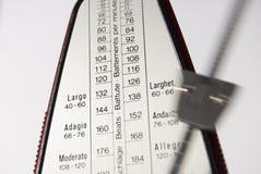 metronome Arkivbild