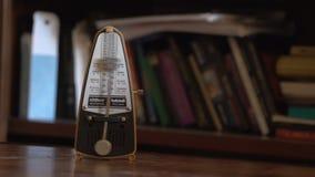 The metronome pendulum stock footage