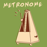 Metronomo Fotografia Stock