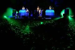Metronomy (electronic music group) performance at Heineken Primavera Sound 2014 Stock Photography