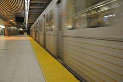 Metroplatform Stock Foto