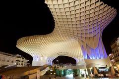 Metropol遮阳伞在Plaza de la恩卡纳西翁 库存照片