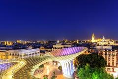 Metropol遮阳伞在Plaza de la恩卡纳西翁 免版税库存图片