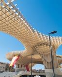 Metropol ett slags solskydd i Seville Arkivfoton