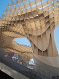Metropol ett slags solskydd i Seville Arkivbild