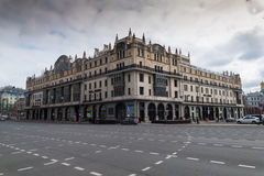 Metropol Hotel in the center of Moscow. MOSCOW, RUSSIA - MARCH 10,2016:Hotel Metropol is historical hotel in center of Moscow, built in 1899-1907 in Art Nouveau stock image