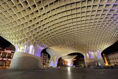 Metropol Parasol in Seville, Spain Royalty Free Stock Images